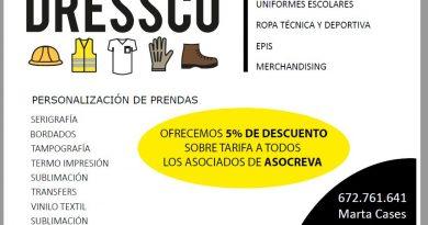 Acuerdo colaboración DRESSCO ropa laboral
