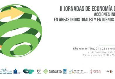 ASOCREVA participa en las II Jornadas de Economia Circular