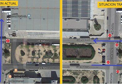 ADVERTENCIA: Cambio de prioridad de paso en el cruce calle Mallorca y calle Poniente en Sector 12